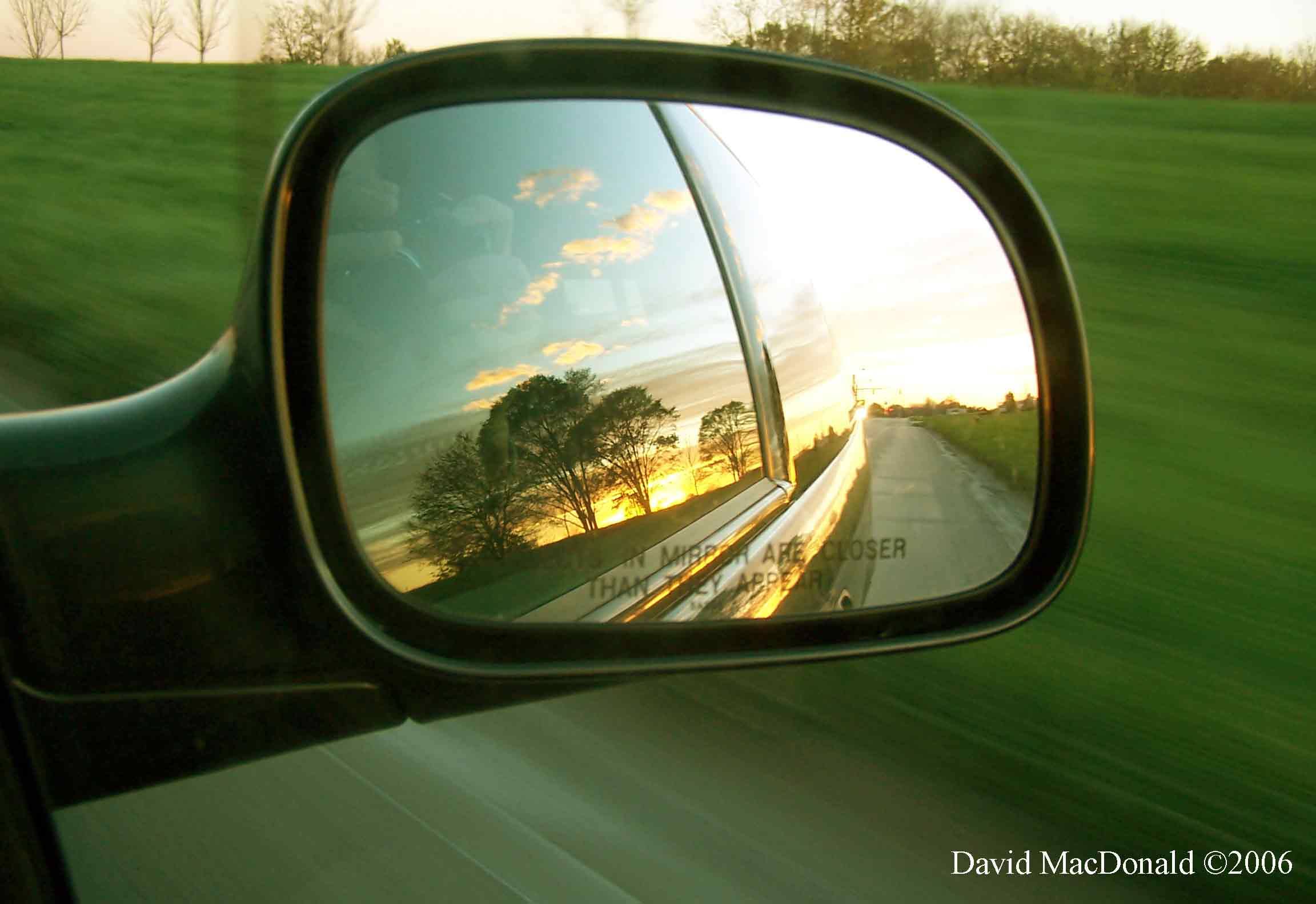 Stop looking in the rear vision mirror – Rock Your Life ...